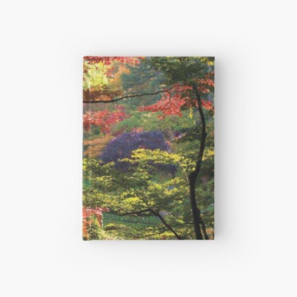 Trees In A Garden Butchart Gardens Hardcover Journal