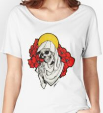 Death and Poppies Women's Relaxed Fit T-Shirt