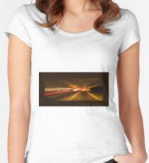 Solar warp 1 Women's Fitted Scoop T-Shirt