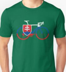 Bike Flag Slovakia (Big) T-Shirt