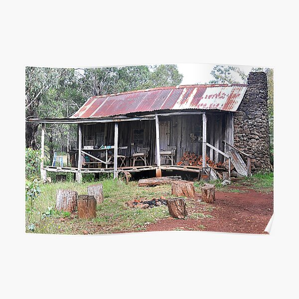 Rustic Shack - Nundle NSW Australia Poster