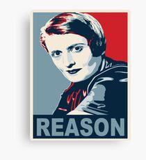 Ayn Rand Canvas Print
