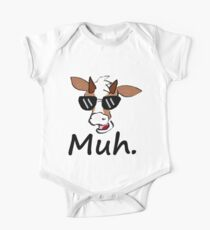 """""""Muh"""" - Cool Cow One Piece - Short Sleeve"""