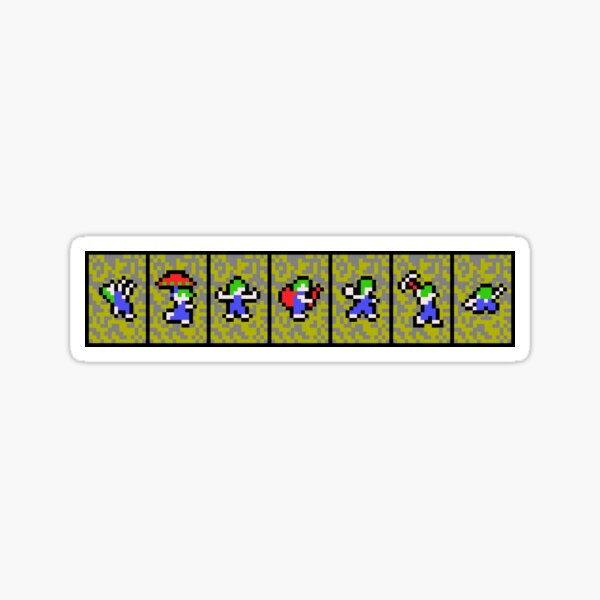 Lemmings Sticker