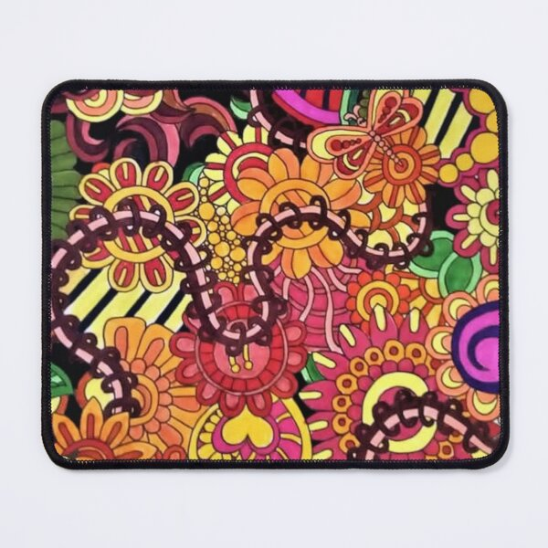 Blacitine Gel Pen Drawing Mouse Pad