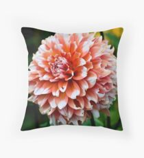Gentle Bloom Throw Pillow