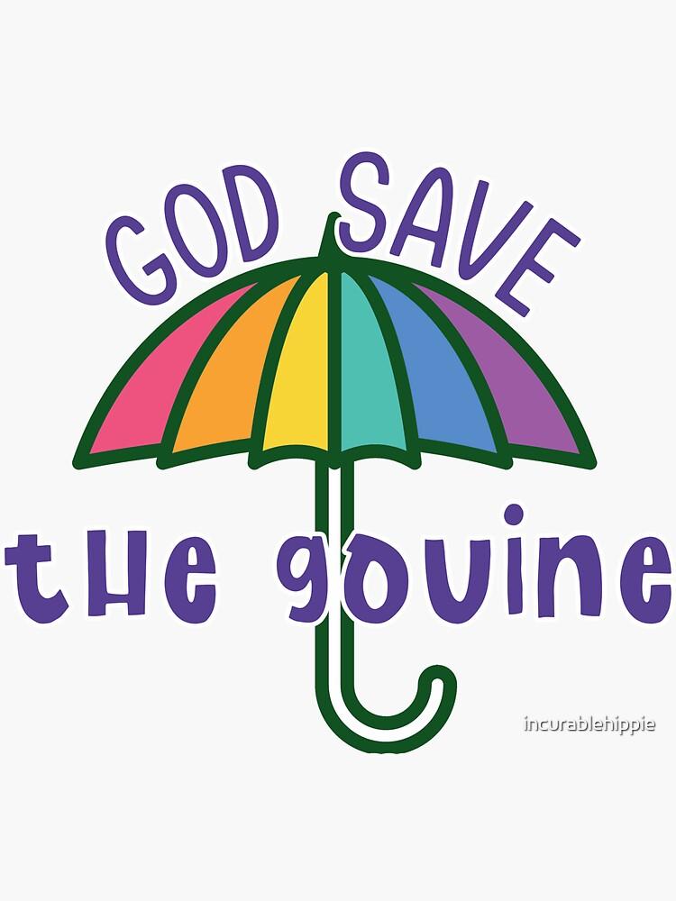 God Save The Gouine - la parapluie arc-en-ciel by incurablehippie