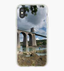 Menai Bridge, Anglesey iPhone Case