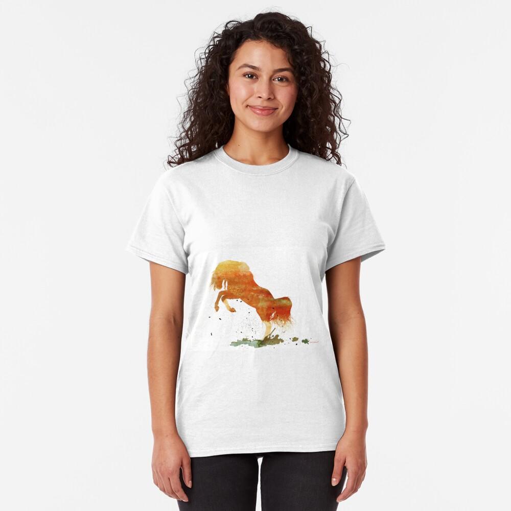 Wild Mountain Pony  Classic T-Shirt
