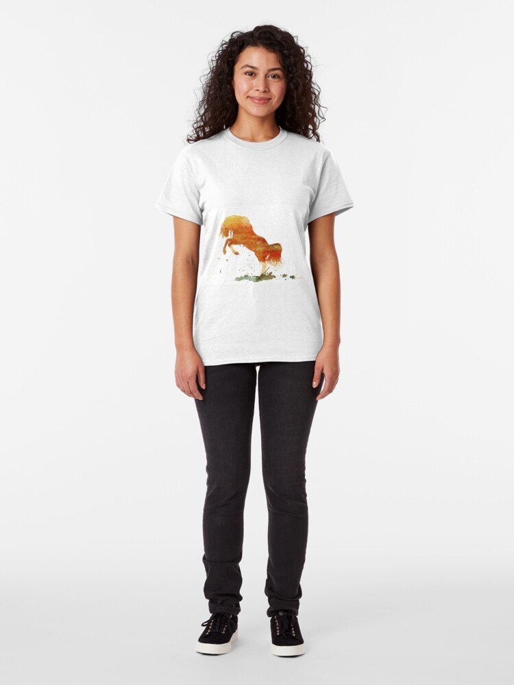 Alternate view of Wild Mountain Pony  Classic T-Shirt