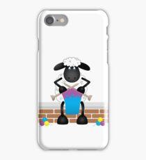 Knitting Sheep iPhone Case/Skin