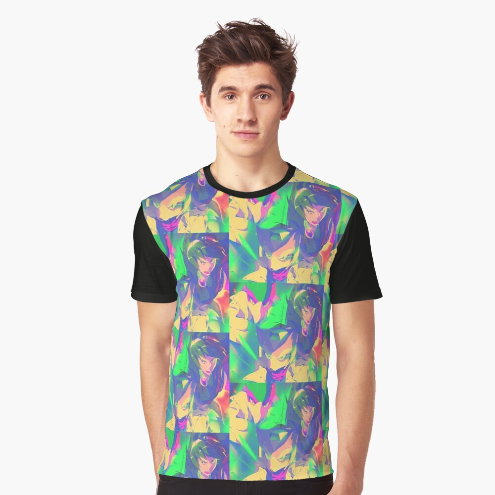 Top Tier Mash Graphic T-Shirt Front