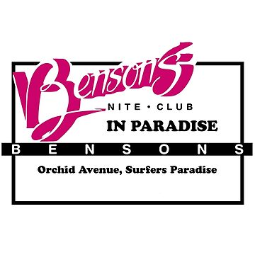 Benson's Night Club by GoldCoastRetro