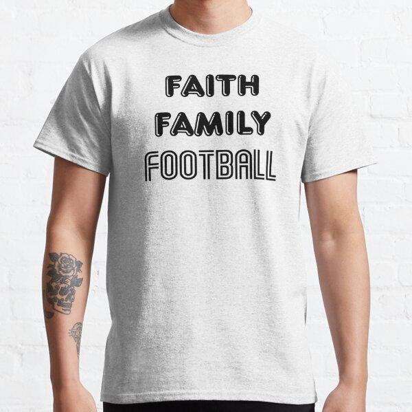 Faith Family Football Classic T-Shirt
