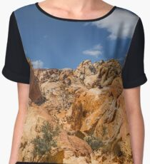 Valley Of Fire Nevada Chiffon Top