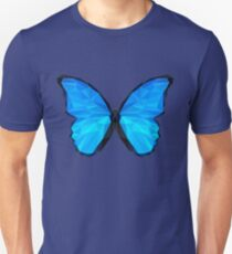 Low Polygon - The Butterfly Effect Unisex T-Shirt