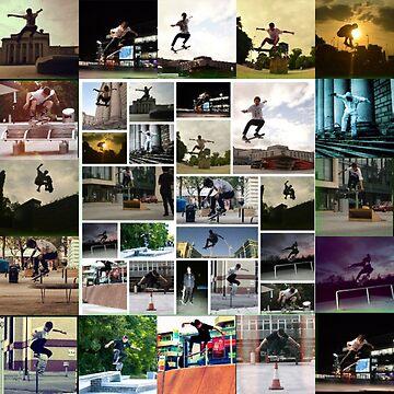 dexter skateboard by iconic-arts