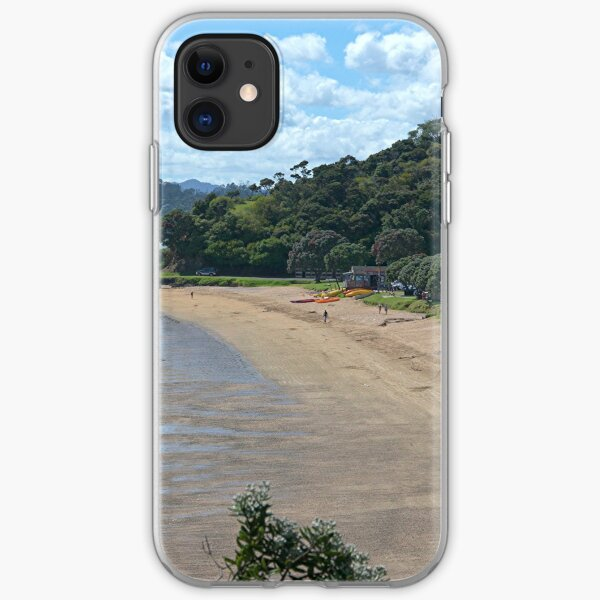 Paihia Beach,  Bay of Islands,  New Zealand...............! iPhone Soft Case