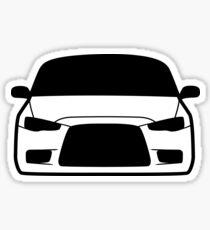 JDM sticker & Tee-shirt - EvoX Sticker