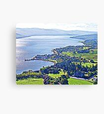 Inveraray. Scotland Canvas Print