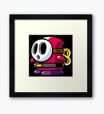ghostbustre Framed Print