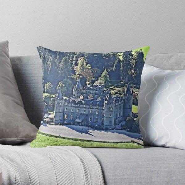 Inveraray Castle. Scotland. Throw Pillow