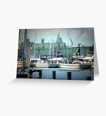 Safe Harbour of Williamstown, Vic. Australia Greeting Card