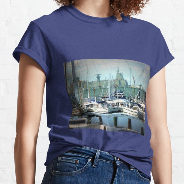 Safe Harbour of Williamstown, Vic. Australia Classic T-Shirt