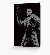 Robo Greeting Card