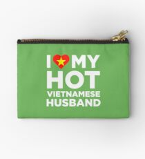 I Love My Hot Vietnamese Husband Studio Pouch