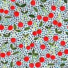Cherries! by Veronique de Jong by Veronique de Jong
