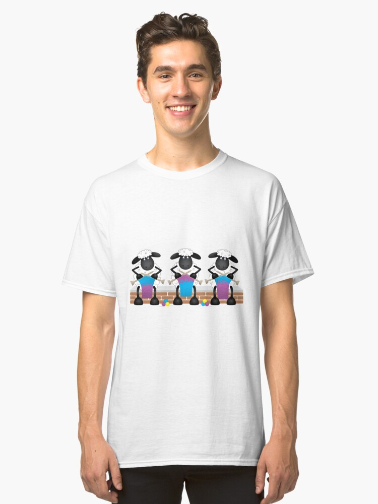 A Knitting Competition For Ewe Classic T-Shirt Front