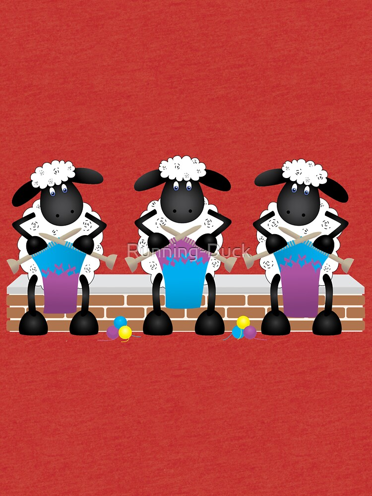 A Knitting Competition For Ewe by Running-Duck