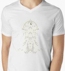 Eminence Crest Mens V-Neck T-Shirt