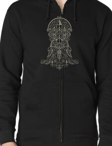 Eminence Crest Zipped Hoodie
