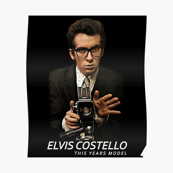 Elvis Costello  The Attractions  This Years Model Poster