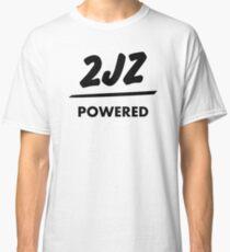 JDM sticker & Tee-shirt - Engine powered 2JZ Classic T-Shirt