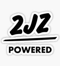 JDM sticker & Tee-shirt - Engine powered 2JZ Sticker