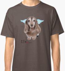 Custom Pet Portrait (Elle) Classic T-Shirt