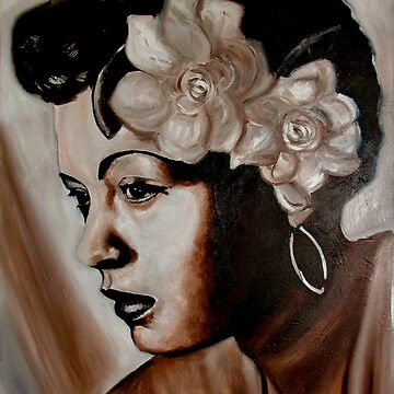 billy holiday by iconic-arts