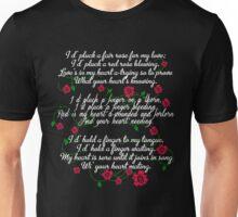 Demelza's Song. Poldark. Unisex T-Shirt