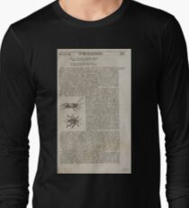The History of Four Footed Beasts Serpents and Insects 175 T-Shirt
