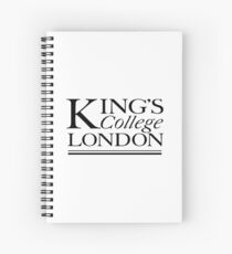king's college Spiral Notebook