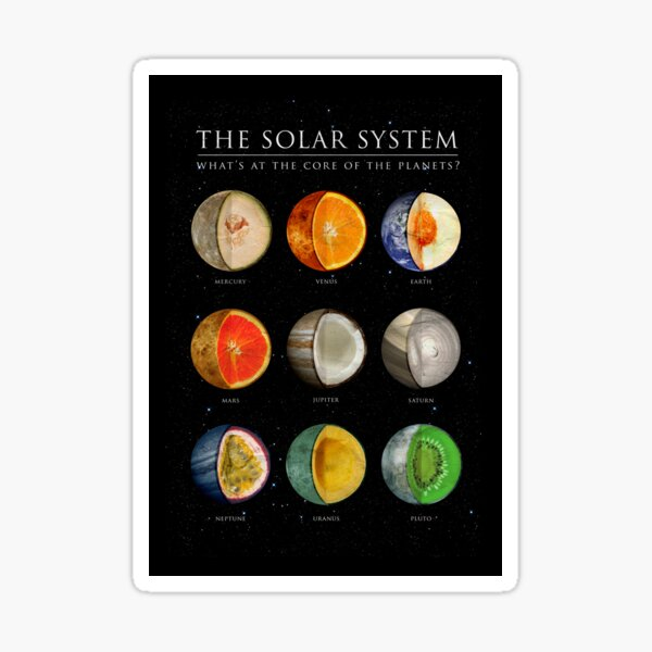 The Solar System Sticker