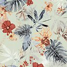 Tropisches Tageslicht Blumenmuster von lascarlatte