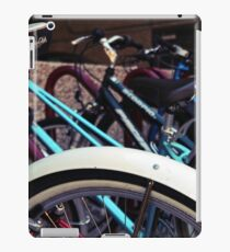 A group of bicycles iPad Case/Skin