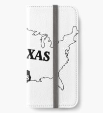 Texas or Not Texas Map of the USA iPhone Wallet/Case/Skin
