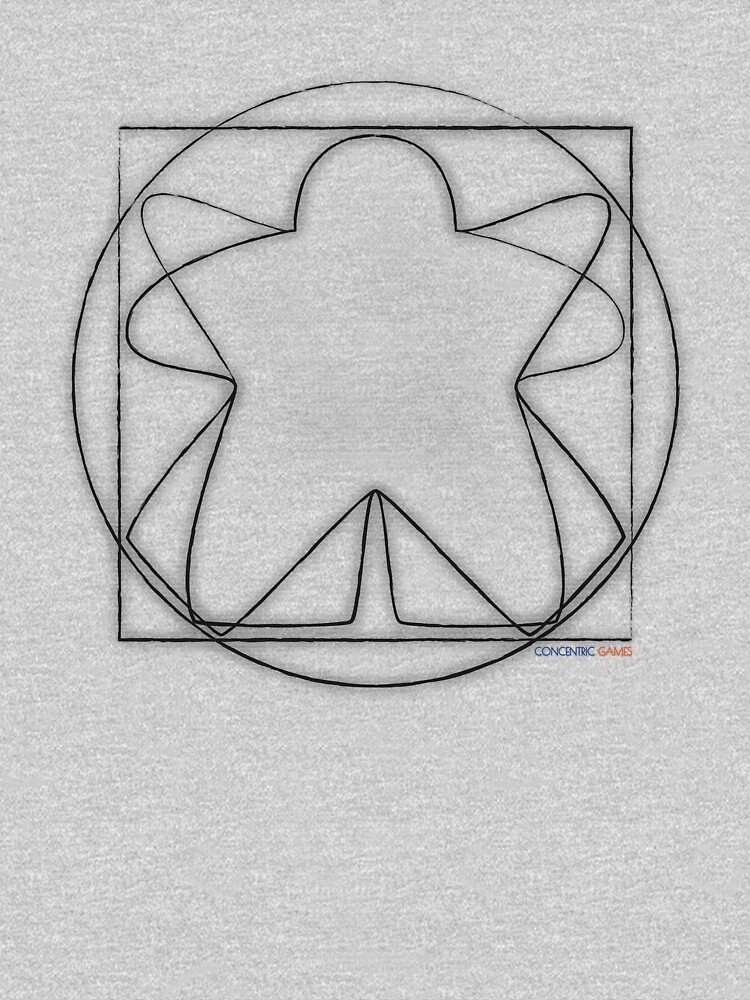 Vitruvian Meeple by concentric