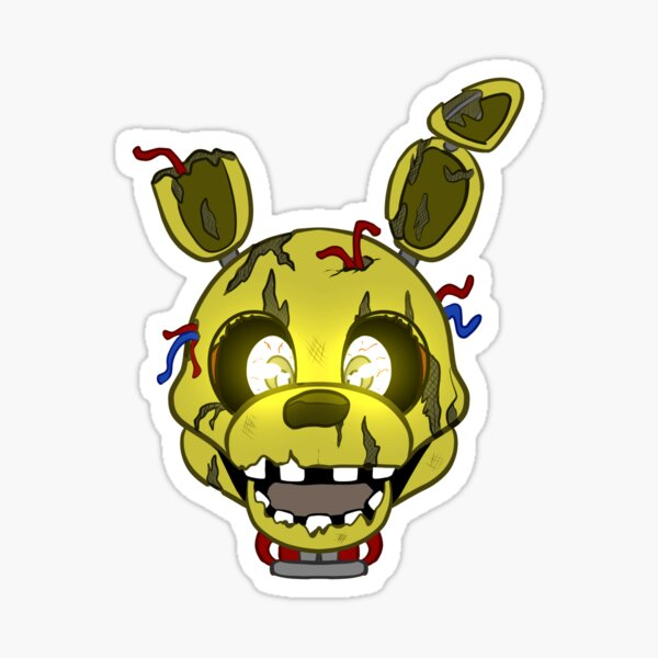 FNAF Spring Trap Sticker