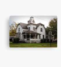 mansard in the middle Canvas Print